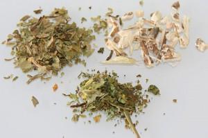 wohltuende Tees und Kräuter